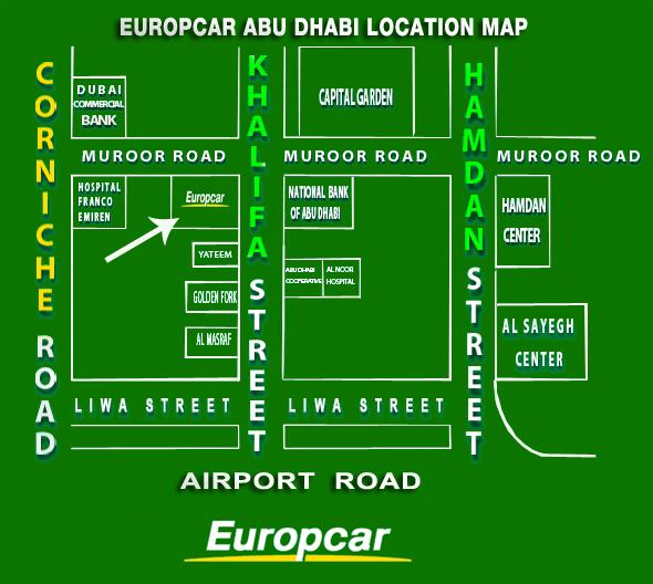 Europcar Abu Dhabi Abu Dhabi Head Office Location