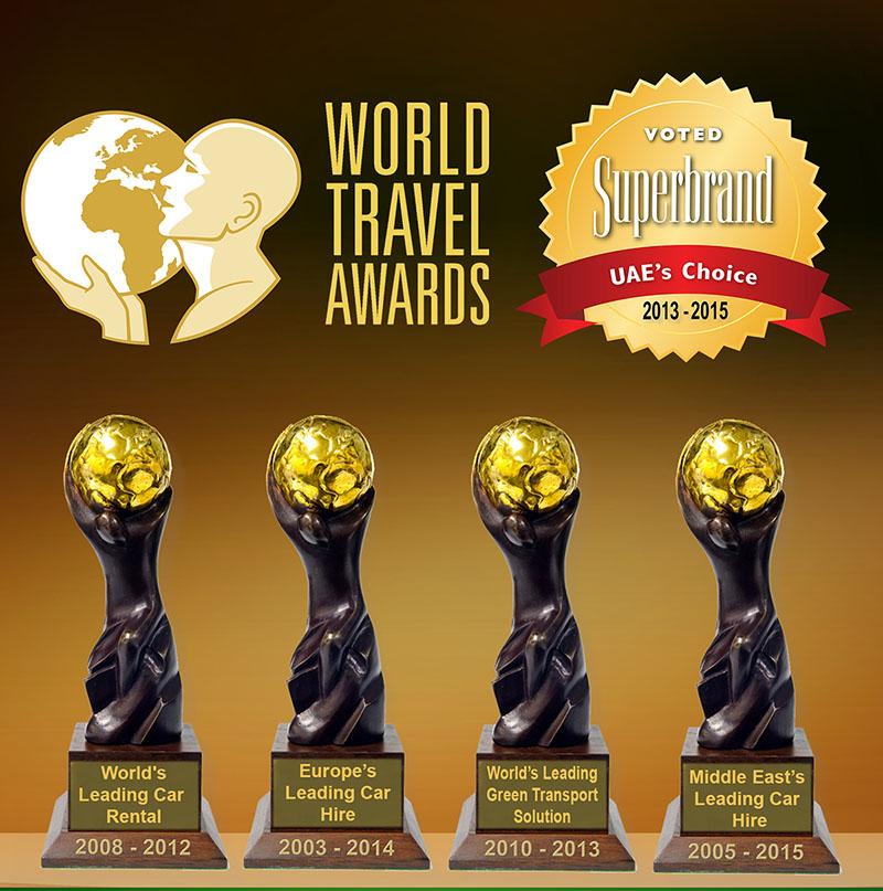 Europcar Abu Dhabi Awards Web Page