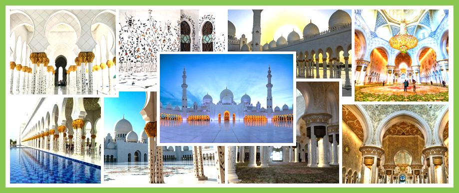Europcar Abu Dhabi Sheikh Zayed Mosque